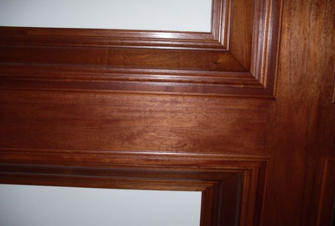 Finished moulding - interior work