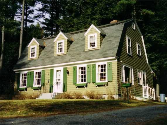 Brattleboro house painted by Eddie Charbonneau Painting